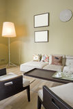 Interior of a room. Interior of a living room Royalty Free Stock Photos