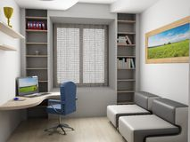 Interior of a room. Royalty Free Stock Images