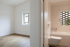 Interior, room and bathroom Stock Image