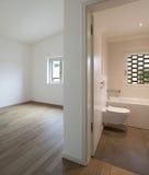 Interior, room and bathroom Stock Photos