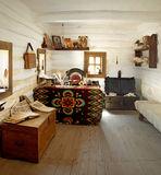 Interior room of Cossack military clerk Stock Photography