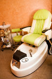 Interior of a room for pedicure Royalty Free Stock Image