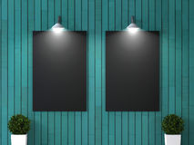 Interior room with picture royalty free stock images