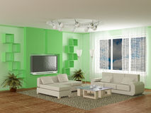 Interior of a room of rest. Stock Images