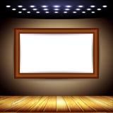 Interior room with a screen Stock Photos
