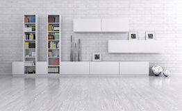Interior of a room with sideboard Stock Photography