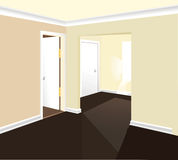 Interior room vector Royalty Free Stock Photos