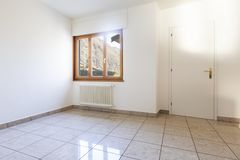 Interior of a room with window royalty free stock photography
