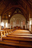 Interior of Ross Uniting Church Stock Photos