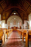Interior of Ross Uniting Church Royalty Free Stock Photography