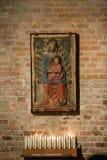 Interior of Rotonda di San Lorenzo in Mantua. Italy royalty free stock images