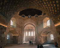 Interior of the Rotunda of Galerius in Thessaloniki - Greece Stock Photography