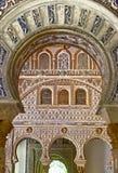 Interior of Royal Alcazars of Seville, Spain Stock Photo