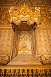 Interior of royal bedroom at Palace of Versailles in Paris, France Stock Image