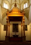 Interior of Royal Collegiate church, Antequera Royalty Free Stock Photography