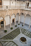 Interior of the Royal Hospital. Granada's historic monument Royalty Free Stock Image