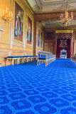 Interior of  royal palace in Medieval Windsor Castle. UK Stock Photography
