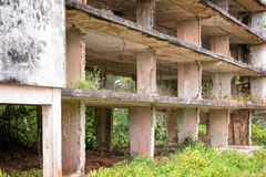 Interior of a ruined building,  Cuba Stock Photography