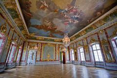 Interior in Rundale Palace Stock Image