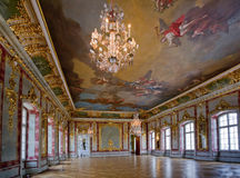 Interior  in Rundale Palace Royalty Free Stock Photography