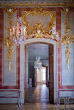 Interior  in Rundale Palace Royalty Free Stock Images