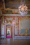 Interior  in Rundale Palace Royalty Free Stock Photo