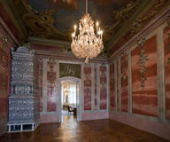 Interior  in Rundale Palace Stock Images
