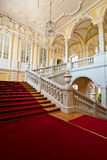 Interior of Rundale palace. Royalty Free Stock Images