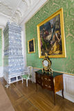Interior of Rundale palace Stock Image
