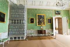 Interior of Rundale palace Royalty Free Stock Photography
