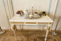 Interior of Rundale palace Stock Images