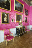 Interior of Rundale palace. the Reception Room Royalty Free Stock Photo