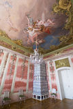Interior of Rundale palace. The Rose Room Stock Image