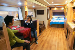 Interior of RV Stock Photos