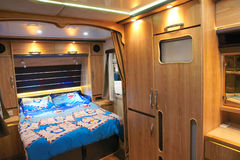 Interior of RV Royalty Free Stock Photography