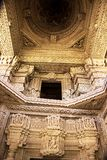 Interior of Saas-Bahu Temple Stock Photo