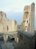Interior of Sacra di San Michele, italian medieval abbey Royalty Free Stock Image