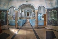 Interior Sacred Elizabeth`s church Stock Image
