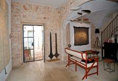 Interior Sailer gallery in Santanyi Royalty Free Stock Photos