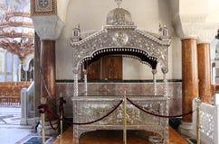 Interior of Saint Andrew Basilica of Patras Stock Photo