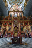 Interior of Saint Andrew orthodox church in Kyiv, Ukraine. Stock Images
