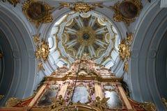 Interior of Saint Andrew orthodox church in Kyiv, Ukraine. Stock Image