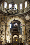 Interior of Saint - Augustin Church. Paris, France. Stock Image