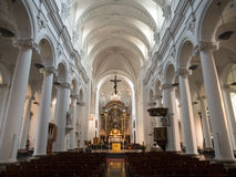 Interior Of Saint Bartholomew Church in Liège Royalty Free Stock Photo