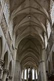 Interior of Saint Gummarus church Royalty Free Stock Image