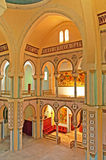 Interior of Saint Louis Cathedral Carthage, Tunisia Royalty Free Stock Photo