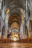 Interior of Saint Patrick Cathedral Royalty Free Stock Photography