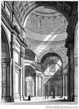 Interior of Saint Paul's Cathedral Stock Images