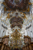 Interior of the Saint Paulinus Church in Trier, Germany Royalty Free Stock Images