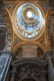 Interior of the Saint Peter Catedral Royalty Free Stock Photography